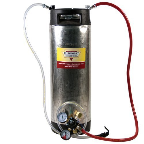 Cornelius Keg System without 5 lb CO2 tank by Brands May Vary