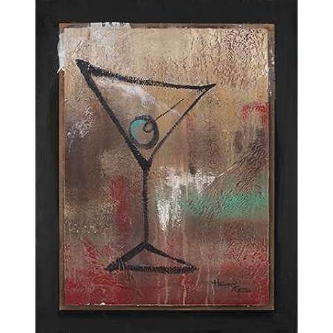 Impresión de Arte Fino en lienzo : S.O.S. Club I by Hakimipour-Ritter - pequeña (56 x 71 Cms)