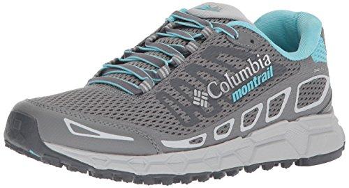 Columbia Bajada III Shoes Women ti Grey Steel/Coastal Blue Schuhgröße US 7 | 38 2018 Schuhe