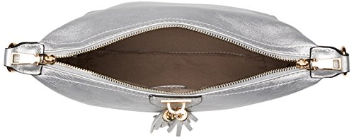 Swanky Swans - Caprice Shoulder Bag, Borse a tracolla Donna Argento (Silver)
