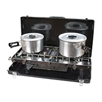 Kampa Alfresco Grill and Hob with 2 Burners 10