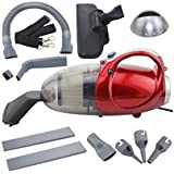 OCIAL Plastic 220-240V 50 HZ 1000W Blowing and Sucking Dual Purpose Vacuum Cleaner (Red)