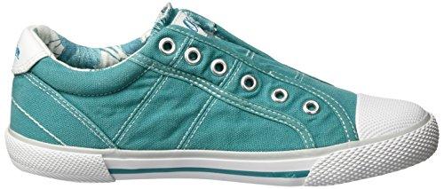 s.Oliver 53211, Sneakers Basses Garçon Vert (TURQUOISE 796)