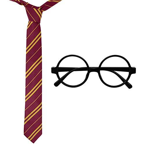 41K6fP7tZxL - Accesorios de Halloween novedosas gafas y corbata, ideales como regalo de Navidad