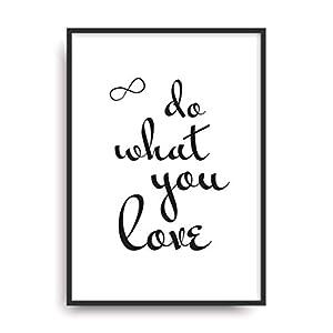Kunstdruck LOVE Poster Bild Plakat ungerahmt DIN A4 Geschenk