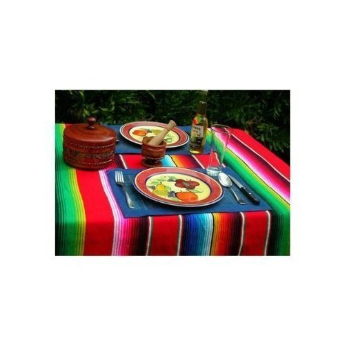 large-authentic-mexican-saltillo-sarapes-throw-rugs-colorful-blankets