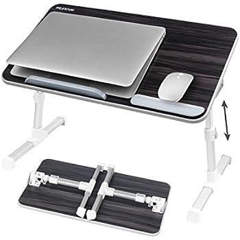 gro format verstellbarer laptoptisch f rs bett laptop. Black Bedroom Furniture Sets. Home Design Ideas
