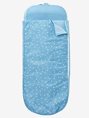 Vertbaudet Kinderschlafsack mit Luftmatratze Sterne blaugrau 0