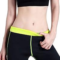 Moliies Pantalón Corto elástico de Neopreno para Mujer Pantalones Cortos para realzar el Sudor Que mejoran el Sudor