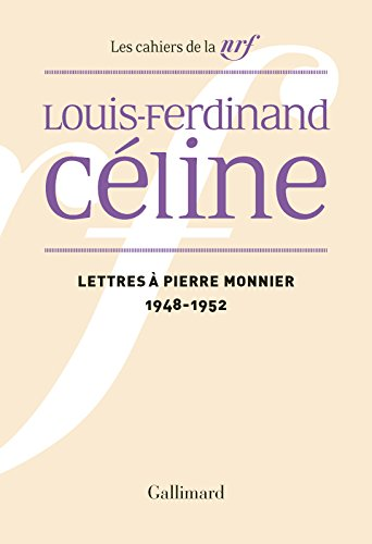 Lettres Pierre Monnier 1948 1952 [Pdf/ePub] eBook