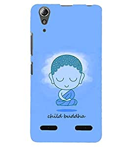 PRINTSHOPPII CHILD BUDDHA Back Case Cover for Lenovo A6000