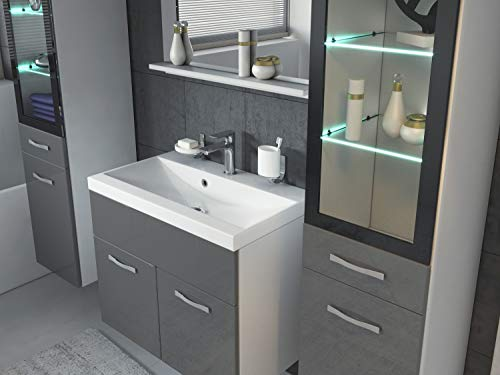 Badezimmer Badmöbel Set Rio XL LED 60 Bild 3*