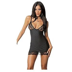 Wiftly Damen Lingerie Sexy Rollenspielen Cosplay Kostüme Perspective Sekretärin Uniformen Versuchung mit G-String