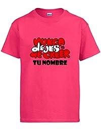 Diver Bebé Camiseta Atlético de Madrid Letras Nunca Dejes de Creer Personalizable ...