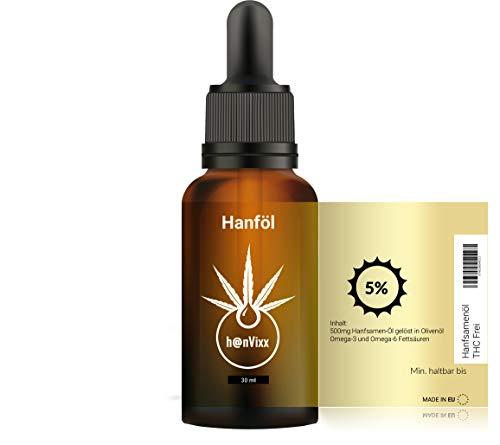 h@nVixx Premium Essential 5 Prozent Tropfen (30ml) Neutrale Verpackung