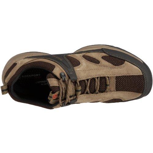 Rockport Ralaze, Chaussures de sport homme Marron - Braun (Gerberbraun)