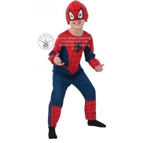 Kostüm Jungen Kleinkind Spiderman (Marvel Ultimate Spiderman Kostüm für Kleinkinder, Jungen, für 2–3Jahre)