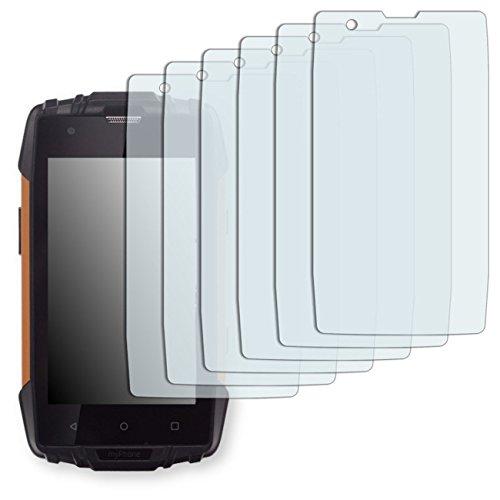 GOLEBO myPhone Hammer Iron 2 Displayschutzfolie - 6X Schutzfolie Folie No Reflexion|Keine Reflektion MATT für myPhone Hammer Iron 2