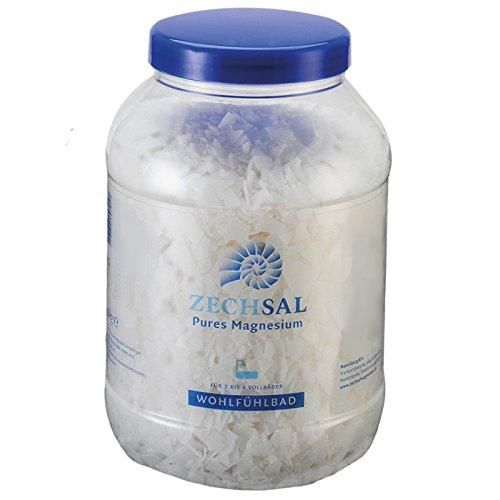 Zechsal Magnesium Flocken in den Größen (750g Fussbad /2kg Wohlfühlbad /4kg Deluxe Bad] [Aus dem Zechsteinmeer]