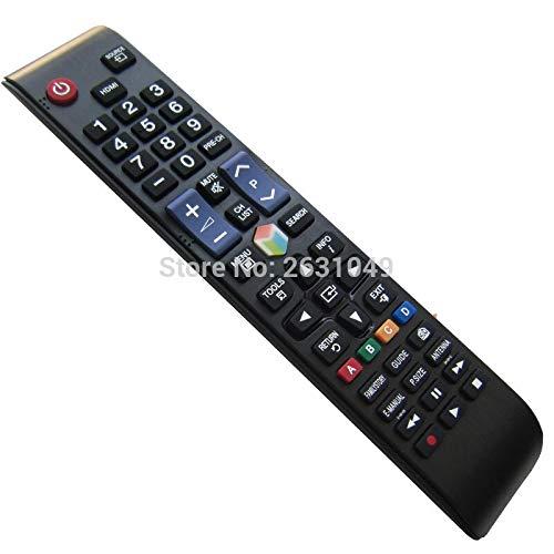 Calvas Fernbedienung für Samsung UN75JU7100F.UN75JU7100FXZA.UN75JU710D.UN75JU710DFXZA.UN78JS9100F.UN78JS9500F.UN85JU7100 LCD LED TV