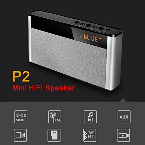 TianranRT★ Tragbarer Bluetooth-Lautsprecher - Drahtloser Bluetooth-Lautsprecher, Smart Appliances, Bluetooth-Audio, Bluetooth-Audio-Lautsprecher, Schwarz