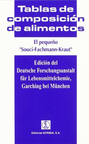 El pequeño Souci-Fachmann-Kraut: tablas de composición de alimentos