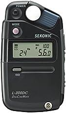 Sekonic Digicinemate L-308DC Digital Light Meter (Black)