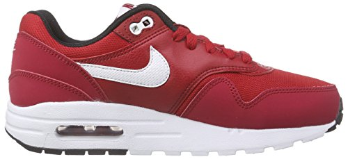 Nike Air Max 1 (Gs) Jungen Sneakers Rot (Gym Red/White-Black)