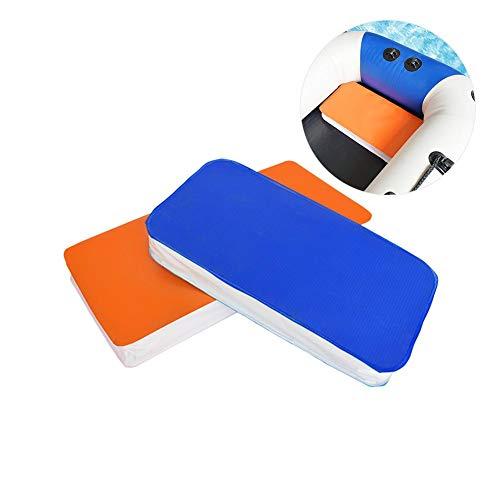 Schwimmendes Kissen-aufblasbares Boots-Kissen-sich hin- und herbewegendes Brett-wasserdichte Schaum-Sitzauflage für Camping-Sport-Strand-Reise im Freien -
