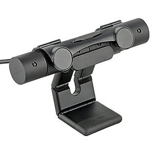 Gaminger PS4 Kamera (2016) PS-VR Schutz Abdeckung Hülle Privatsphäre zum Aufklappen, für Sony Playstation 4 Cam, schwarz