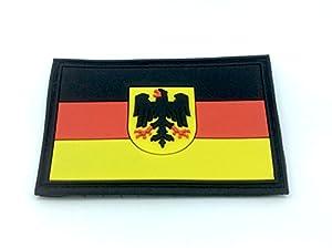 Allemand Allemagne Blason Drapeau Airsoft PVC Patch