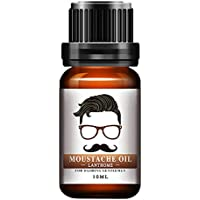 Aceite para bigote, Hombres, estilo orgánico natural Aceite para bigote, hidratante Suavizante,