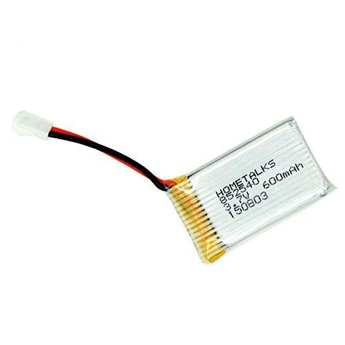 Hometalks® de Syma X5c X5c-1 X5sw Quadcopter recargable Lipo batería (3.7v, 600mAh...