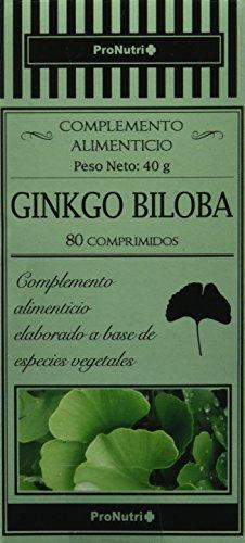 PRONUTRI - PRONUTRI Ginkgo Biloba 80 comprimidos
