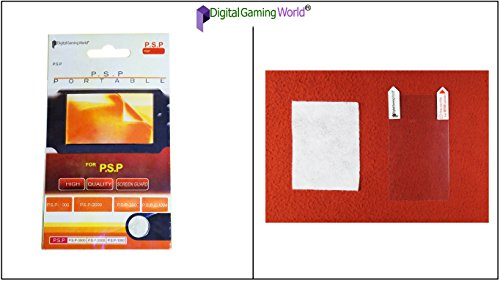 Digital Gaming World® Screen Guard/Protector For PSP (1000/2000/3000 and E-1004 Models)