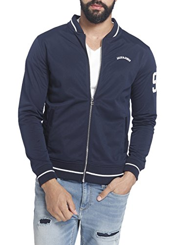 Jack & Jones Men'S Casual Jacket (_5713236961988_Navy Blazer Large_)  available at amazon for Rs.2099