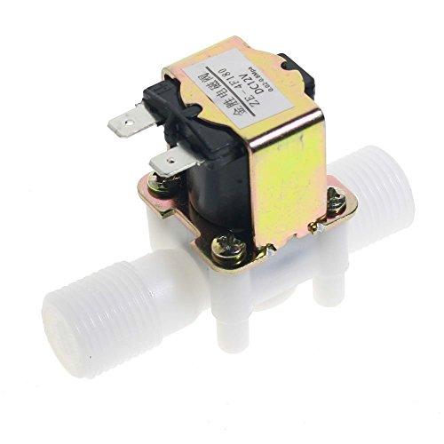 1 StÜcke 12mm Weiß Kunststoff Eine Möglichkeit Inline Rückschlagventil Kraftstoff Gas Flüssigkeit Wasser Geeignet Für Wasser Diesel öle Benzin