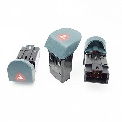 Preisvergleich Produktbild Renault Kangoo I 97 - 08 Warnblinkschalter Schalter Knopf 7700308821 Blinker