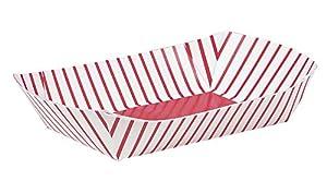 "Paper Snack Tray 9""X5.5"" 4/Pkg -"