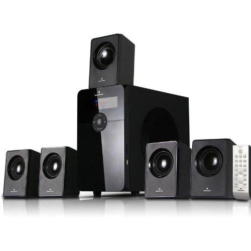 AUNA HF583 Sistema sonido multicanal Home Cinema 5.1 (70W RMS, entrada