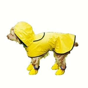 Vitrine Magique - Le manteau de pluie pour petit chien