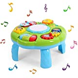 Cable World® 2 in 1 Musical Learning Table Early Educational Development Activity Center & Multiple Modes - Assorted…