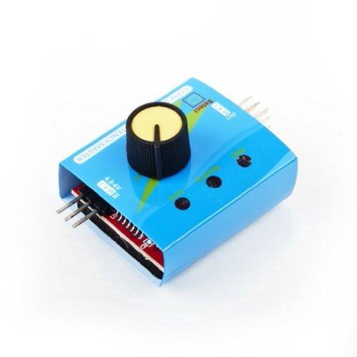 TOOGOO(R) Servo Tester CCPM padrone di consistenza Checker 3CH (Regolatore Della Finestra Guida)