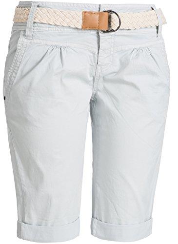 Fresh Made Damen Chino Shorts 60080 Hellgrau
