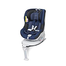 Foppapedretti Rolling Fix Seggiolino Auto, Oceano, Gruppo 0+/1 (0-18 Kg) per bambini dalla nascita fino a 4 anni circa