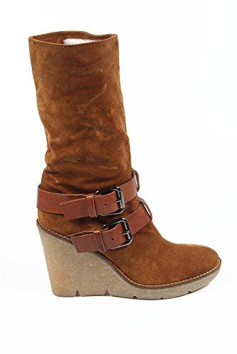 stivale basso donna Sebastian Milano ladies short boot s3946 velour lux (sonia) 401 miele -- 36,5 eur - 6,5 us