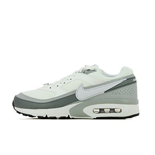 Nike Herren Air Max BW (GS) Laufschuhe, Grau (Grau (Wolf Grey/Weiß-Cool Grey-Schwarz)), 38 EU (Hi Grau Weiß Herren Sneakers)