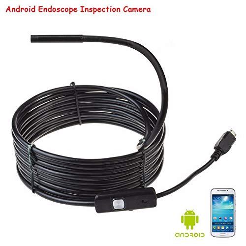 Endoskop mit Side Audition Endoscope Flexible 6LED-Reparatur
