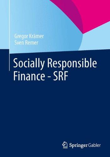 Socially Responsible Finance - SRF