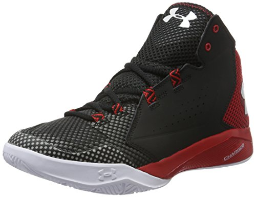 Under Armour Torch Fade, Scarpe da Basket Uomo, Nero (Black), 42.5 EU